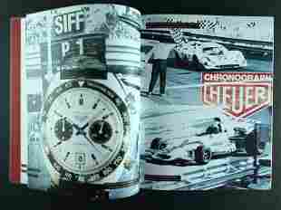 Heuer Chronograph Book by Arno Michael Haslinger