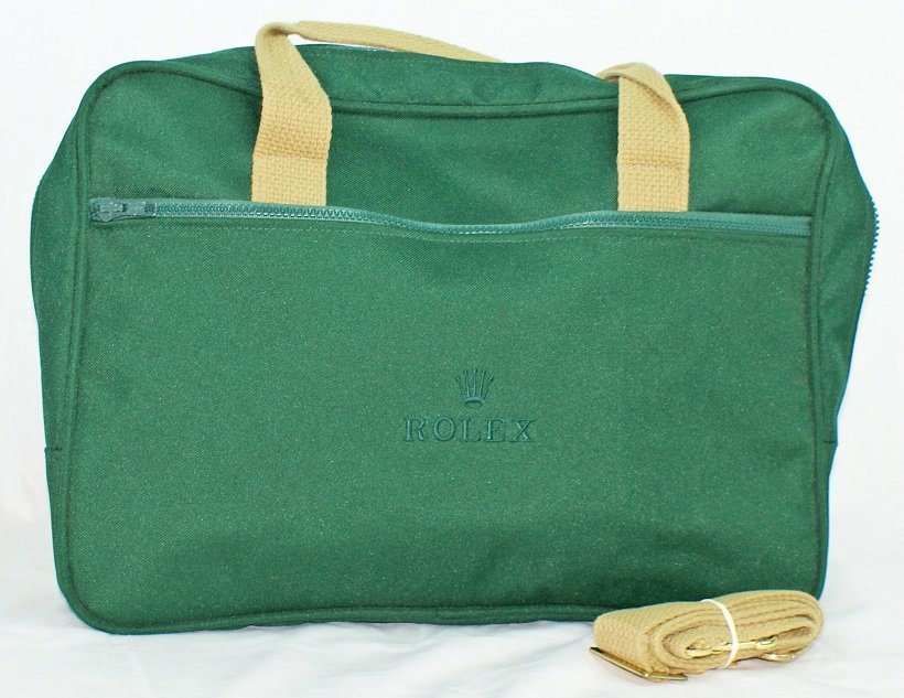 4: Rolex Briefcase Messenger Shoulder Bag
