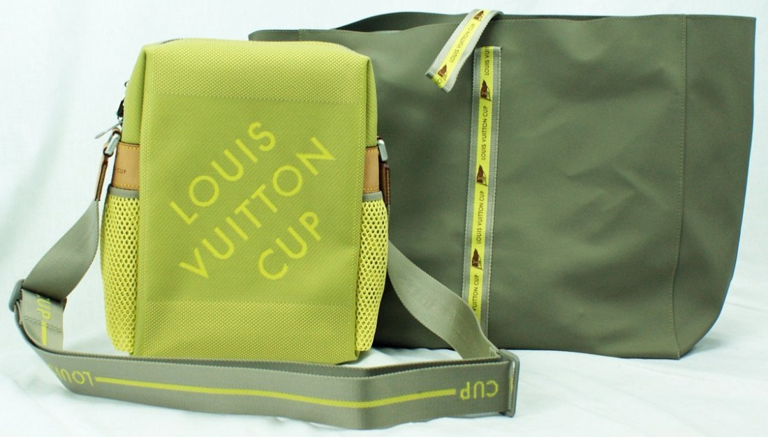 5: Limited Edition Louis Vuitton America`s Cup Messenge