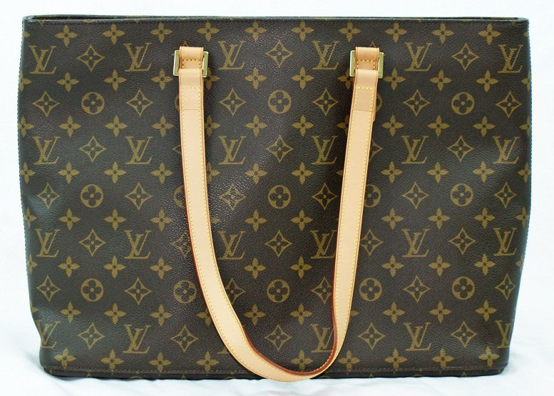 8: Louis Vuitton Monogram Luco Tote Handbag Purse