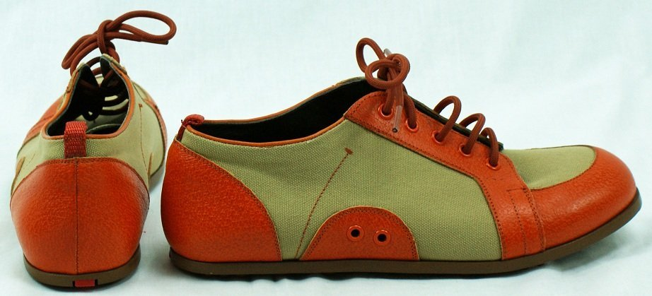 13: Prada Leather Canvas Shoes