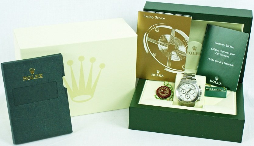 147: Rolex Cosmograph Daytona Ref 116520 with Box and A