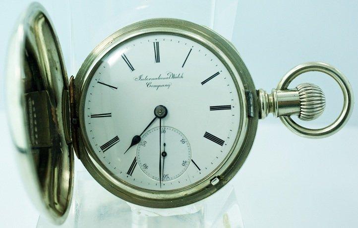2: Early Hunters Case IWC Pocket Watch Schaffhausen