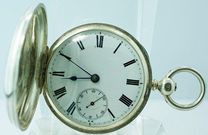 3: Early Silver Hunters Case IWC Pocket Watch