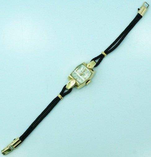 5: 18k Yellow Gold Ladies Rolex Precision Fancy Lugs Wa