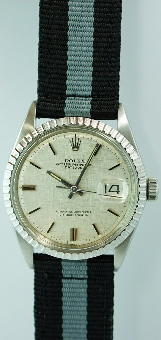 19: Men`s Rolex Oyster Perpetual Datejust Watch #1603