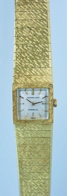 20: 18k Yellow Gold Ladies Audemars Piguet Watch by Gub