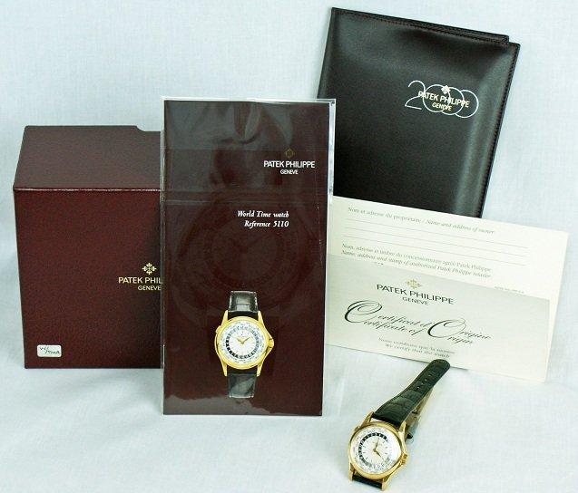 65: Rare Qatar DOHA Patek  Philippe World Time Watch