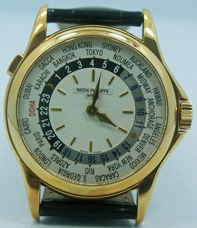 65: Rare Qatar DOHA Patek  Philippe World Time Watch - 2