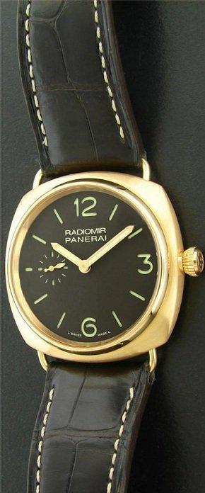 157B: 18k Rose Gold Radiomir Panerai Pam 336 Watch - 2