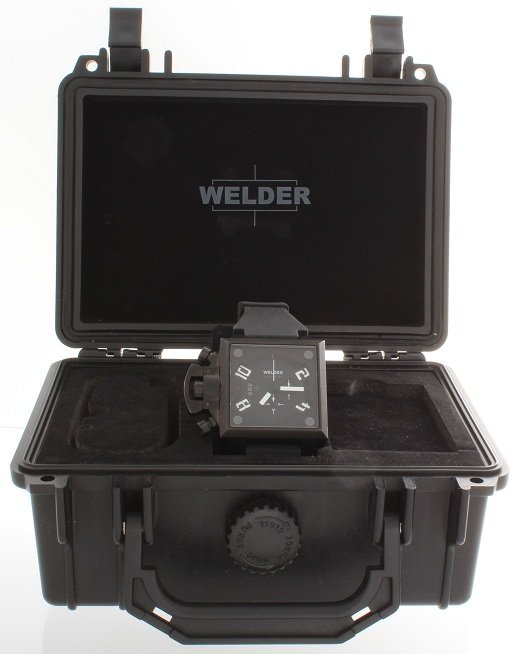 2: Ion Plated Steel Welder K25 Chronograph Watch U-Boat