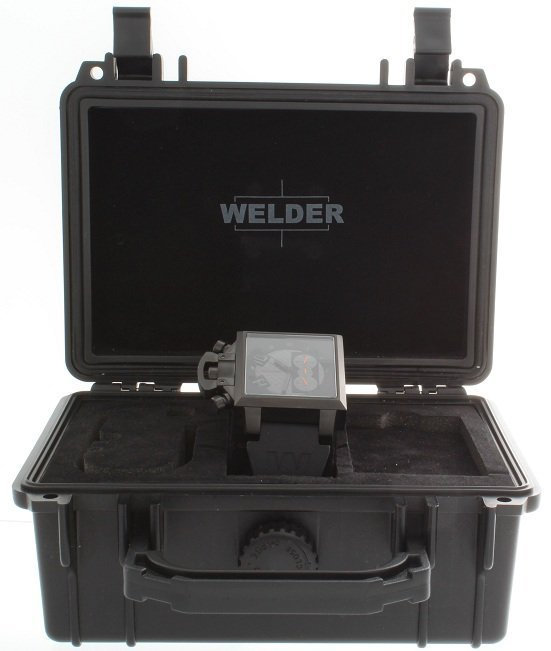 3: Ion Plated Blackout Welder K25 Chronograph Watch