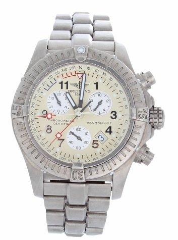 6: Titanium Breitling 1884  Avenger Chronograph Watch