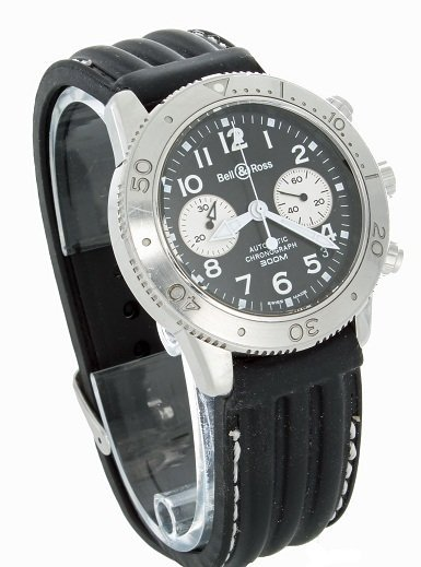 7: Bell & Ross Automatic Chronograph 300M Watch