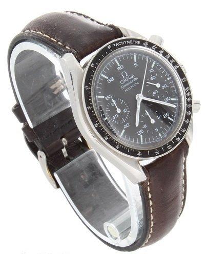 14: Steel Omega Speedmaster Automatic Watch