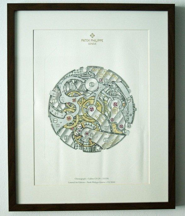23: Patek Philippe Chronograph Caliber 29-535 PS Lithog