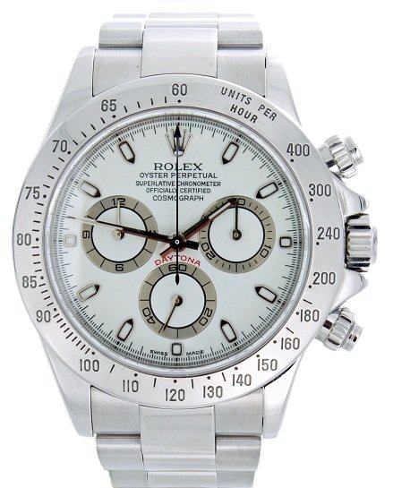 115: Rolex Cosmograph Daytona Chronograph Watch #116520
