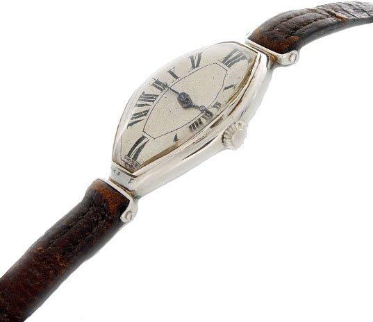 Platinum Alongee C.H. Meylan Swiss Watch