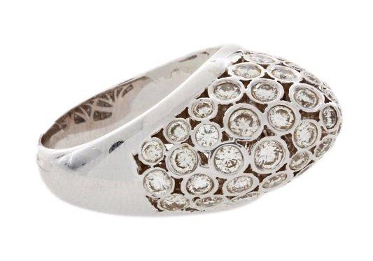 18k White Gold 2ct Diamond Ring