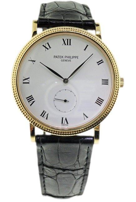 18k Yellow Gold Patek Philippe Calatrava 3919J Watch