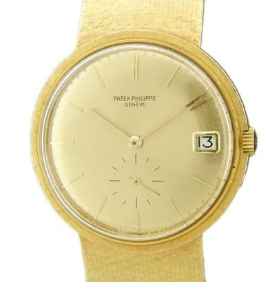 Vintage 18k Yellow Gold Patek Philippe 3445 Watch