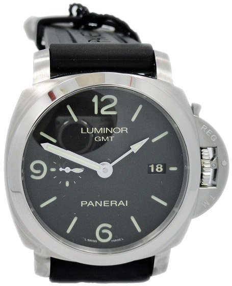 Limited Edition Panerai Luminor 3 Day GMT Watch PAM 320