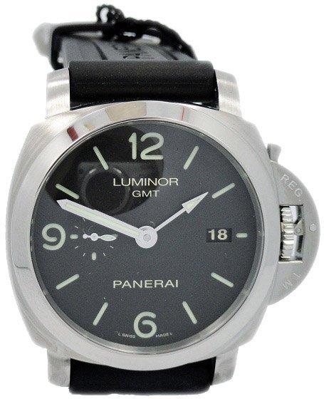 Limited Edition Panerai Luminor 3 Day GMT Watch PAM 320