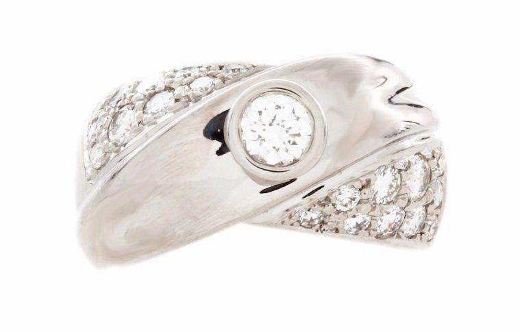 18k White Gold 1.0ct Diamond Ring