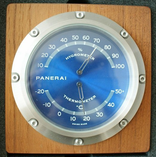 Panerai Hygrometer Thermometer Instrument Clock PAM 256