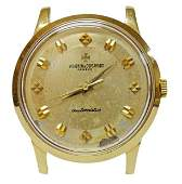 18k Yellow Gold Vacheron et Constantin Waterproof Watch
