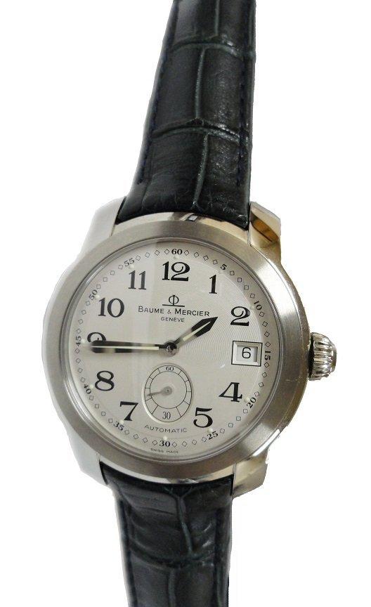 Stainless Steel Baume & Mercier Capeland Watch