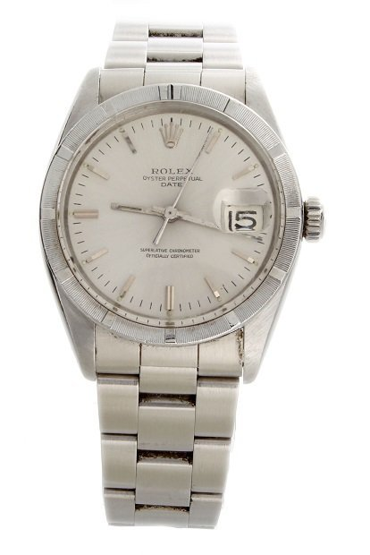 Stainless Steel Rolex Date Watch #1501