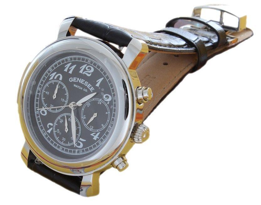 Stainless Steel Genesee Watch Co Wristwatch