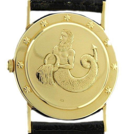 18k Yellow Gold Corum Astrology Coin Watch - 2