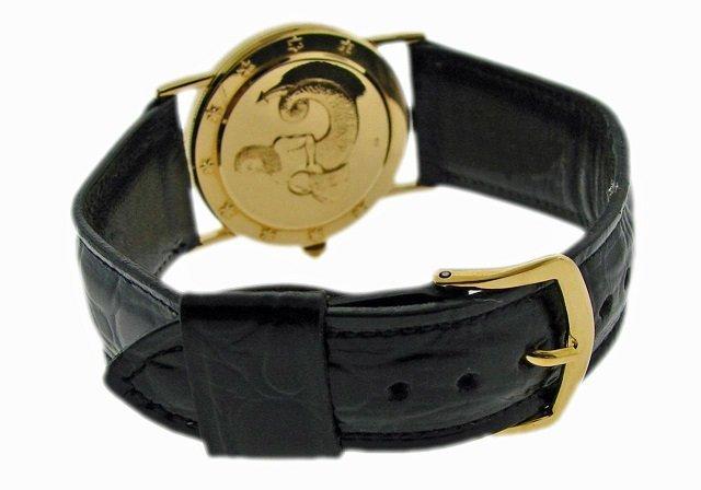 18k Yellow Gold Corum Astrology Coin Watch - 3