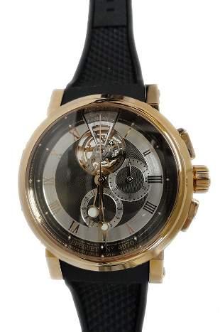 Rare and Unusual Breguet Tourbillion Watch