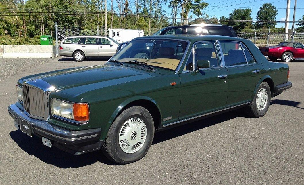 1988 Bentley Mulsanne S Saloon Automobile