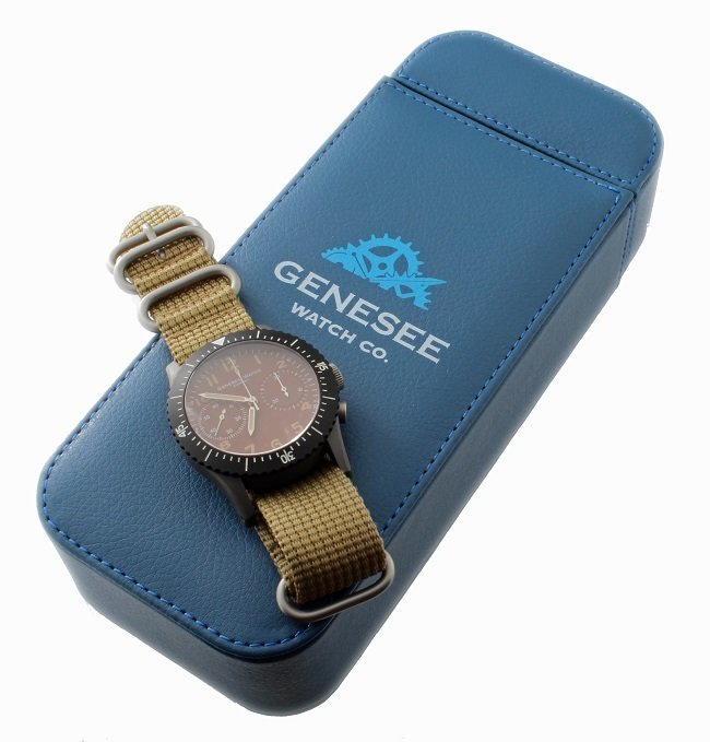 Titanium Special Edition Genesee Watch Co Chronograph
