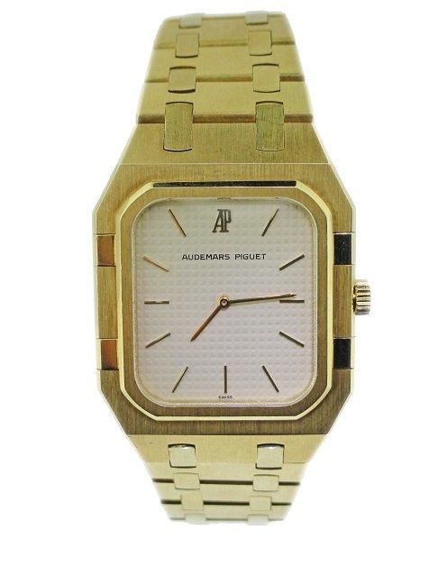 18k Yellow Gold Gents Audemars Piguet Watch