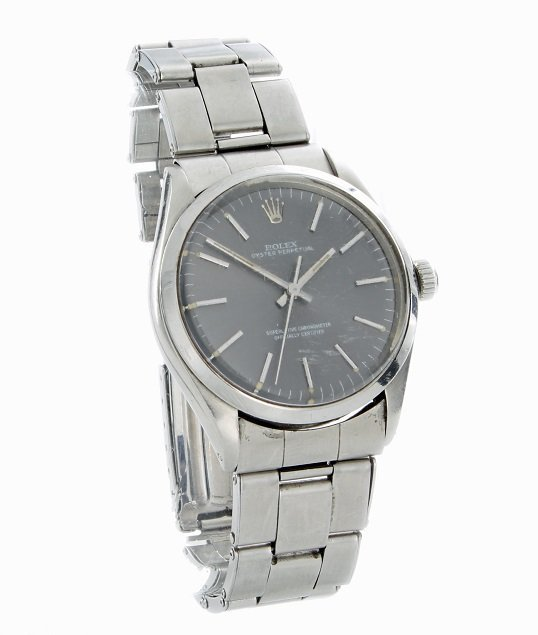 Stainless Steel Rolex Oyster Perpetual Wrist Watch 1002