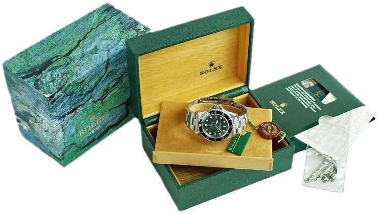 Steel Rolex Oyster Perpetual Submariner Watch #14060