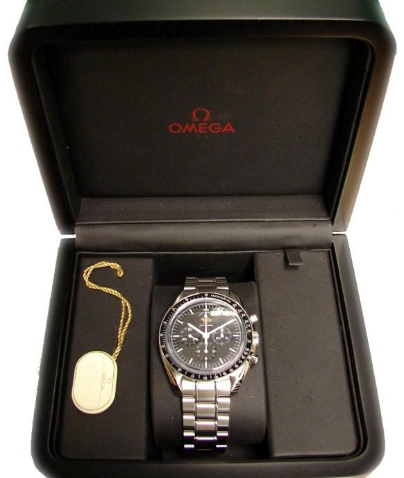 Omega Speedmaster 50th Anniversary Chrono Watch