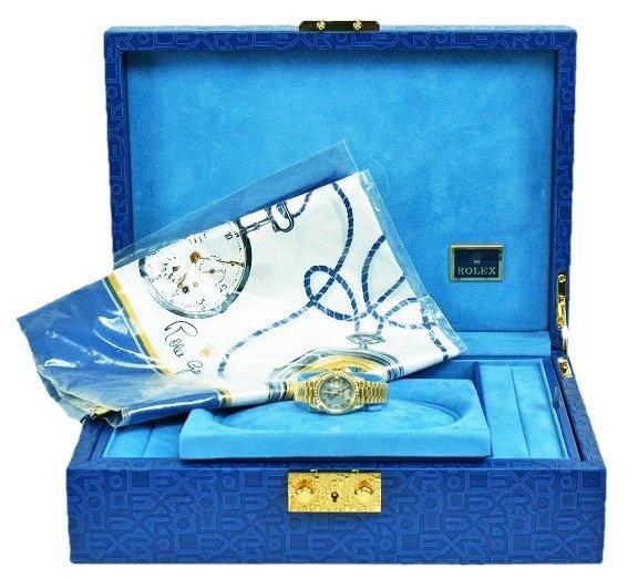 18k Yellow Gold and Diamonds Ladies Rolex President