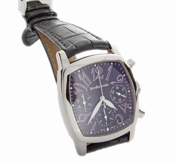 Jean Richard TV Screen Grand Chronograph Watch