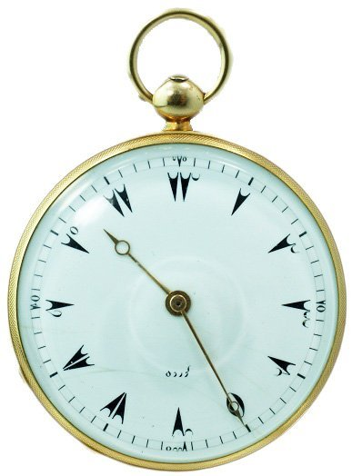 18k Yellow Le Roy for Ottoman Turkish Market Watch