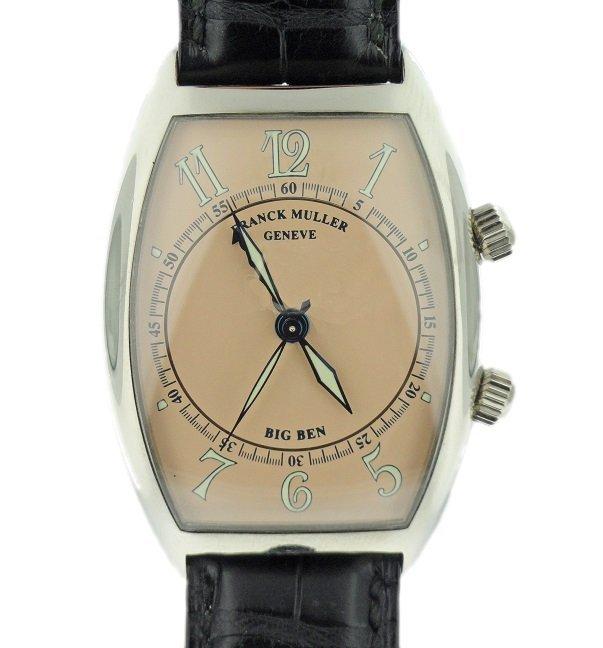 18k White Gold Franck Muller Big Ben Alarm Watch