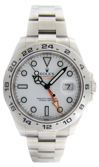 Gents Stainless Steel Rolex Explorer II Watch #216570