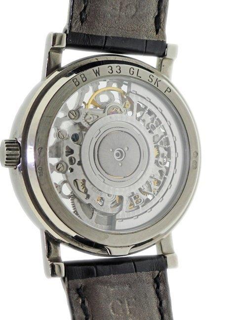 Gents 18k White Gold Bvlgari Skeleton Watch - 4