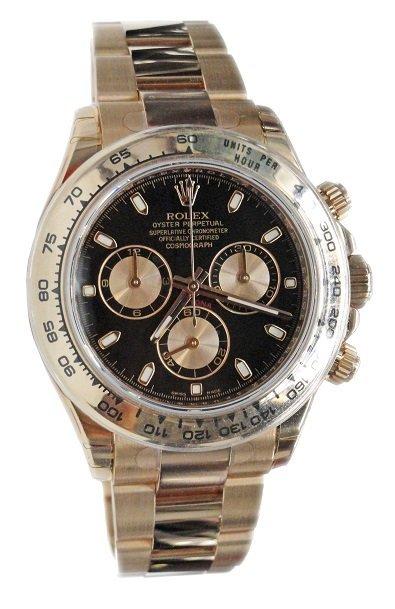 18K Everose Gold Rolex Daytona Chronograph Watch