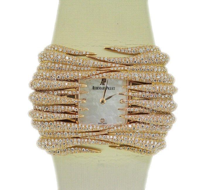 18k Pink Gold and Diamonds Audemars Piguet Givrine